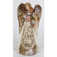 """S/2 ANGEL PAPER PULP TABLE PIECE 12"""""""