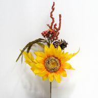 Sunflower Pick - Yellow