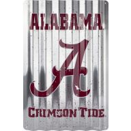 NCAA 12 X 18 Corrugated Metal Sign ( 11 teams )