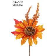 Fall Sunflower Pick