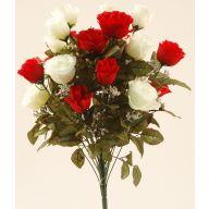 X24 Open Rose & Rosebud W Filler