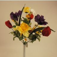 X14 Daffodil Iris Daisy Tulip Mix
