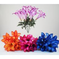 X9 Tiger Lily Bush - 4 Assorted ( 12 Bushes )
