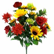 X24 Sunflower Rose Mum