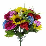 X24 Sunflower/Hydrangea/Rose