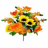 X18 Rose Sunflower