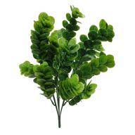 "X 7 Large Euc Leaf Bush - 16.5"" High"