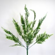 X12 Leather Fern (Plastic) - White / Green
