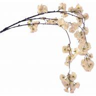 """59 """" Hanging Cherry Blossom - White"""