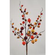 """19 """"  Fall Pick - Orange / Burgundy / Green"""