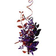 """20 """"  Leaf Curl Pick - Orange / Black / Purple"""