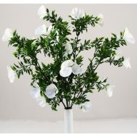 "21"" X9 SWEET PEA ORCHID BUSH - PURE WHITE"