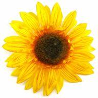 """7"""" Sunflower Head - Yellow"""