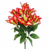 X 9 Tiger Lily - Raspberry