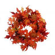 "24"" Maple Leaf Wreath"