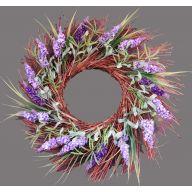 "24 x 24 x 4 "" Lavender Wreath"