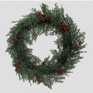 "24 "" Ming Cedar Wreath"