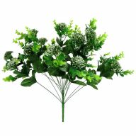 X18 Eucalyptus / Dandelion Bush (Plastic)