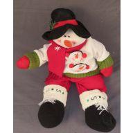 "20 "" Sitting Snowman"