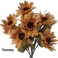 X7 Burlap Sunflower Bush