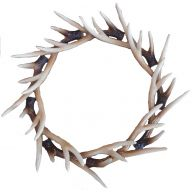 "16 "" Buckhorn Wreath - Coffee"