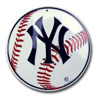 "12 "" Circle Sign - New York Yankees"