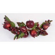 "22"" FRUIT MIXED SWAG - ROME RED"