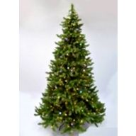 7.5' Quick Connect Deluxe Pine, 1897 Tips, 448 LED Lights, 40 Functions Control/Adapter