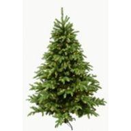 "9 ' Quick Connect Bradbury Spruce w / Plastic Pine Tree 2323 Tips 600 LED Snow Twinkle Warm White Lights w / Pedal Switch 69 "" DIA"