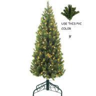 SLIM LIGHTED DESIGNER PINE TREES