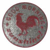 Round Metal Plaque