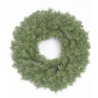 """24"""" CANADIAN PINE WREATH DOUBLE RING, 220 TIPS"""
