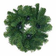 "12"" Colorado Spruce Wreath w/ 4 Candle Cups"