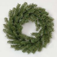 "24"" CANADIAN PINE WREATH W/ 160 TIPS BLUNT"