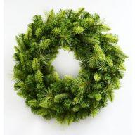 "24"" Elevated Star Fir Wreath 150 Tips"