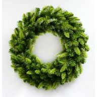 "30"" Elevated Star Fir Wreath 180 Tips"