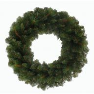 """24"""" ELEVATED DESIGNER PINE WREATH DOUBLE RING 146 TIPS"""
