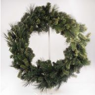 "36 "" Elevated Nouvelle Pine Wreath"