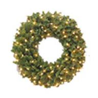 "60"" LIGHTED CANADIAN PINE WREATH, 1180 TIPS, 250 LIGHTS ( Ships Pallet Only )"