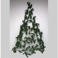 "24""X48"" WALL WORK TREE PVC PINE TRIANGLE"