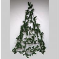 "34""X60"" WALL WORK TREE PVC PINE TRIANGLE"