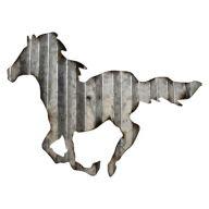 "14 "" x 1 "" x 9.45 "" Metal Horse Decor"