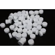"2 "" White Styrofoam Disc"