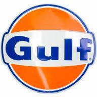 """10.75"""" X 11.5"""" Gulf Logo Sign"""