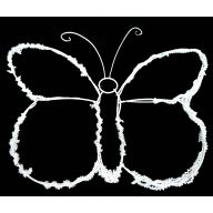 Butterfly Work Wreath
