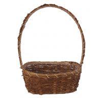 Oval Mountain Vine Basket W Liner