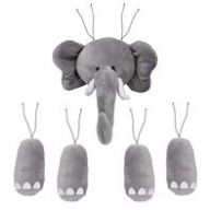 "5 pc 18 "" H Elephant Decor Kit - Grey (CN22042)"