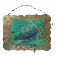 Tin Turtle Sign
