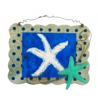 Tin Starfish Sign