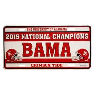 "6 X 12 "" Alabama Champion License Plate"